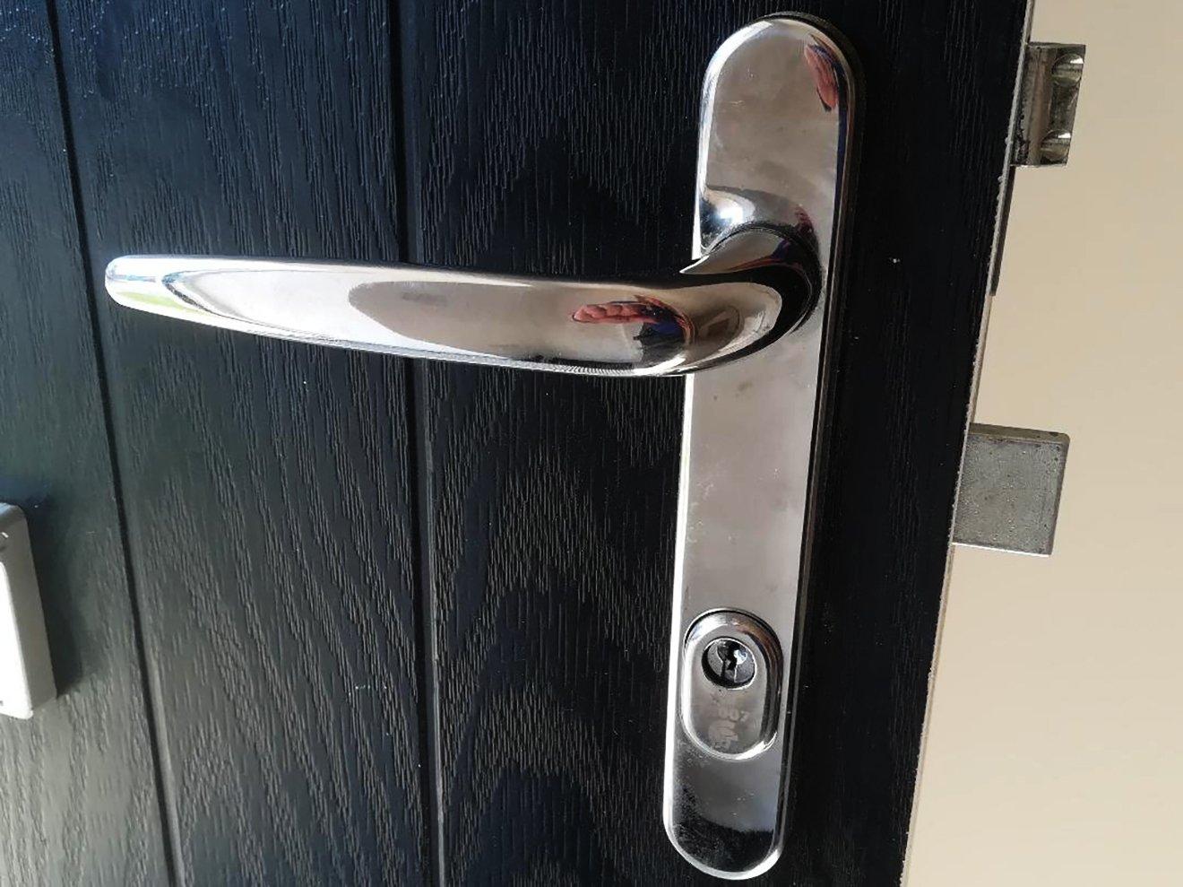 New door lock replacement